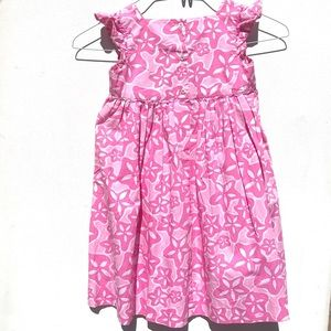 Adorable Lilly Pulitzer shift dress 6 floral pink